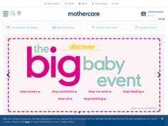 #Mothercare - Free UK Delivery on £50+ order.