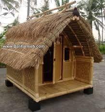 Resultado de imagen para casas de lde bambu en bali
