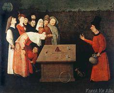 Hieronymus Bosch - Der Taschenspieler