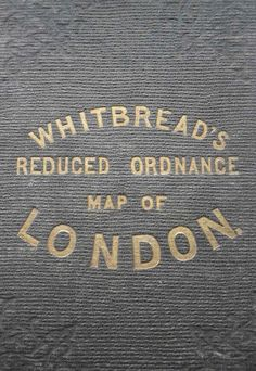 Map of London via @richardovery
