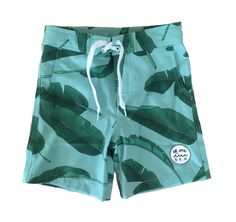 New 4-way stretch technology board shorts that let your little man run and play in or out of the water. This performance fabric is lightweight, stretchy, soft t