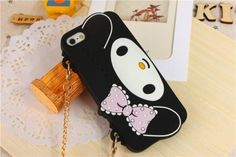 Handbag New My Melody Silicone Soft Chain Case Cover for Apple iPhone 4 4S 5 5S   eBay