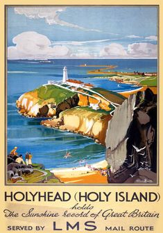 LMS Vintage Travel Poster by Claude Buckle Posters Uk, Train Posters, Railway Posters, Poster Prints, Posters Canada, Retro Posters, Art Print, British Travel, Tourism Poster
