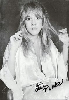Stevie Nicks, autographed
