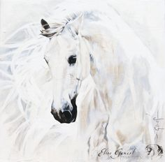 Toiles passées - past paintings — Elise Genest Painted Horses, Horse Wall Art, Horse Artwork, Horse Drawings, Animal Drawings, Arte Equina, Horse Oil Painting, Horse Illustration, Horse Photos