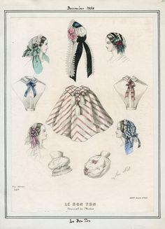 Le Bon Ton December 1858 LAPL