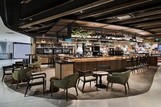 Home Decoration Online Shopping Referral: 1587738245 Cafe Interior, Home Interior Design, Interior Decorating, Interior Paint, Mall Design, Retail Design, Dark Interiors, Shop Interiors, Shopping Mall Interior