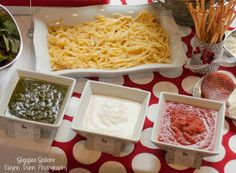 DIY Pasta Bar @Catherine Soden