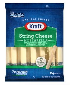Kraft Coupon: Score $1 Off Any One Kraft String Cheese Score $1 off any one Kraft string cheese product with our Kraft coupon. These made perfect school lu