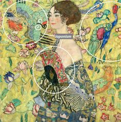 Last Klimt Painting Before He Suffering From Fatal Stroke ,, Lady With Fan,, - PINACOTHECA Gustav Klimt, Abstract Art, Fan, Painting, Painting Art, Paintings, Hand Fan, Painted Canvas, Fans