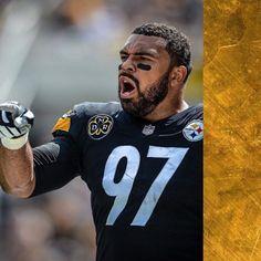 PITTSBURGH STEELERS~Cameron Heyward #97 Cameron Heyward, Steeler Nation, My New Room, Pittsburgh Steelers, Black N Yellow, Nfl, Football, Sports, Tops