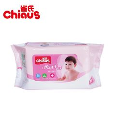 Chiaus Baby Wet Wipes for Hand&Mouth Spunlace Non-woven Wet Tissues Cleansing Wipes Lint Free Skin Care 200mm*140mm*80pcs/pack