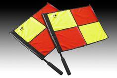 Premier Linesman Flag Football Rugby Hockey Train Referee Flag HG