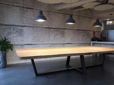 Rechthoekige tafels op maat - Zwaartafelen | Made in Holland