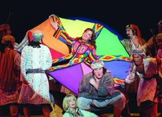 Image result for joseph and the amazing technicolor dreamcoat broadway costumes