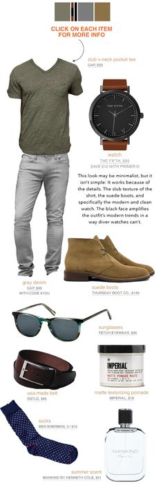 Men's casual summer style inspiration