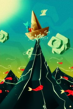 Magic, epic and Fairy I by Rafahu, via Behance