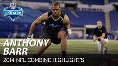 Anthony Barr (UCLA, LB) | 2014 NFL Combine Highlights - YouTube