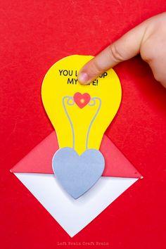 Make this light up Valentine corner bookmark to show your love for books, STEM, or your Valentine this February Preschool Science Activities, Science Projects, Science Valentines, Brain Craft, Project Red, Bookmark Craft, Corner Bookmarks, Electronics Projects, Art Blog