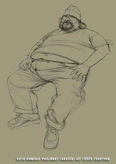How To Draw A Fat Man :