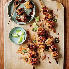 Tsukune (Japanese Chicken Meatballs) - these were fantastic! Even better tucked into lunch the next day. This recipe is a keeper!