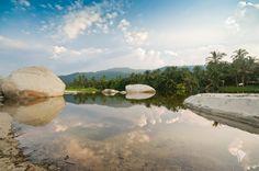 La lagune du parc de Tayrona, Colombie Blog: lesglobeblogueurs.com