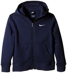 ef5cc67a3c0f9 Nike Ya76 Sweat-shirt à capuche zippé manches longues Noir Blanc FR   XS  (Taille Fabricant   XS)