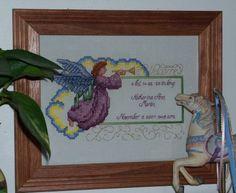 Free Birth Announcment Baby Cross Stitch Pattern