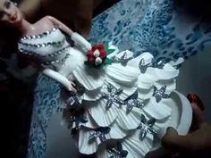 Arte Safira boneca barbie 2º parte