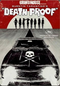 Death Proof: Extended And Unrated - Special Edition on DVD from Weinstein Company. Directed by Quentin Tarantino. Staring Tracie Thoms, Zoe Bell, Sydney Tamiia Poitier and Vanessa Ferlito. More Action, Revenge and Thrillers DVDs available @ DVD Empire. Death Proof, Pulp Fiction, Love Movie, Movie Tv, Badass Movie, Quentin Tarantino Films, Vintage Films, I Love Cinema, Reservoir Dogs