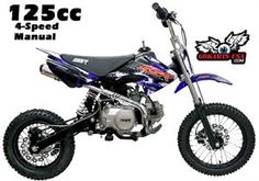 SSR 125 4-Speed Manual Pit Bike