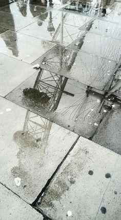 London Eye reflection.