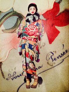 昔のものとは思えない色や柄が素敵なアンティーク着物は、女子の好きな「レトロ」「モダン」「アンティーク」が詰まったとっておきのお着物です。そんなアンティーク着物をご紹介します!