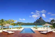 Villa Bora Bora One, one of the most stunning properties in French Polynesia.