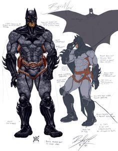 Rediseño JLA Batman Gotham Knight, Batman Armor, Batman Suit, Batman Arkham, Arte Dc Comics, Batman Comics, Lego Batman, Comic Book Characters, Comic Character