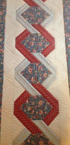 unique borders for quilts   -in-the-ditch, a unique quilting design for the borders or a quilting ... by lola