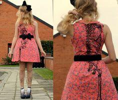 Iron Fist Posey Dress on Laura D from Belgium  Iron Fist Clothing  IF Ladies  ironfistclothing.com