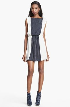 Alice + Olivia Kennedy Blouson Dress available at #Nordstrom