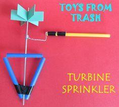 Toys from Trash: Turbine Sprinkler