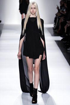 Attention please! Demeulemeester spoke again! Ann Demeulemeester SS 2013 RTW