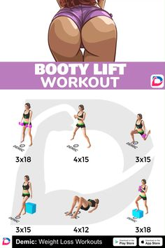 Fitness Workouts, Gym Workout Tips, Fitness Workout For Women, Workout Challenge, Workout Videos, At Home Workouts, Stomach Workouts, Buttocks Workout, Band Workout