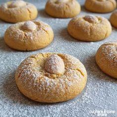 Biscuit Dessert Recipe, Almond Paste Cookies, Almond Biscotti Recipe, My Favorite Food, Favorite Recipes, Cookie Recipes, Dessert Recipes, Lemon Drop Cookies, Biscotti Cookies