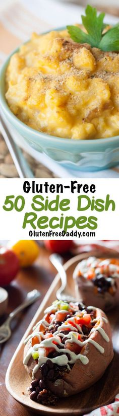 I love this selection of gluten-free side dish recipes cause I really need some new ideas besides plain vegetables.