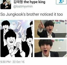 XD JUNGKOOKS BROTHER BE KILLING ME  WITH HIS DRAWINGS XD XD <3