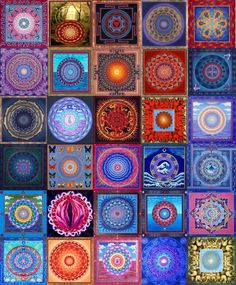 Mandala quilt of wonder.