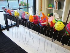 Primary Paper Mache Project
