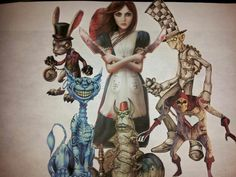 american mcgee alice tattoos | American McGee Wikked Alice | Tatboard.com