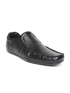 Buy Red Tape Men Black Leather Semiformal Shoes - Formal Shoes for Men | Myntra