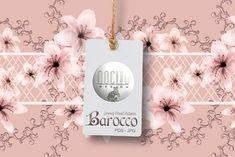 Border Pattern, Pattern Design, Floral Border, Bouquet, Place Card Holders, Colours, Shapes, Luxury, Artwork