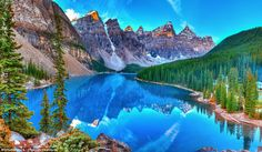 If you've always wanted to experience Canada's diverse landscape, entry to all national parks - including the Banff's Lake Moraine, pictured - as well as historic sites and marine conservation areas, will be free in 2017